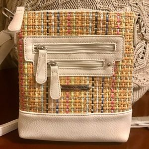 New purse (plastic still on zippers/ tags removed)